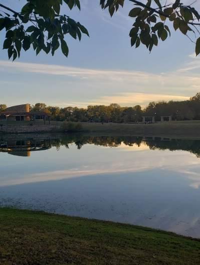 Bonnie Wenk Park at sunset