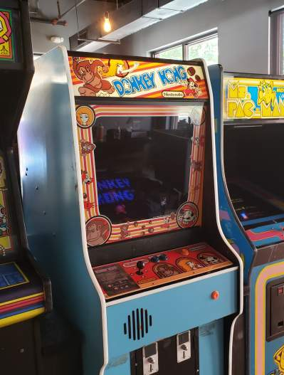 1970s Video Game consoles at Arcade 92