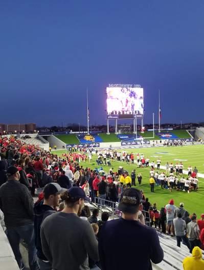 McKinney ISD Stadium-NCAA 2018-stadium at night