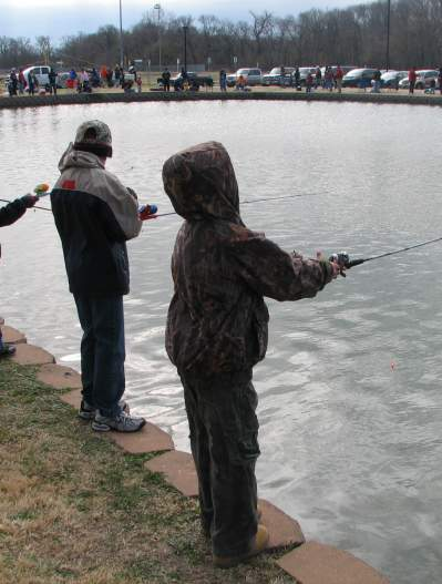 Trout Derby at Towne Lake Park