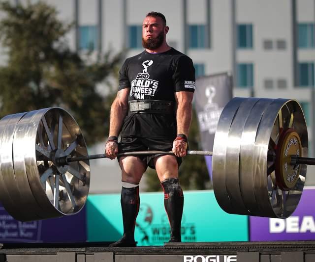 World's Strongest Man Oleksii Novikov deadlift world record
