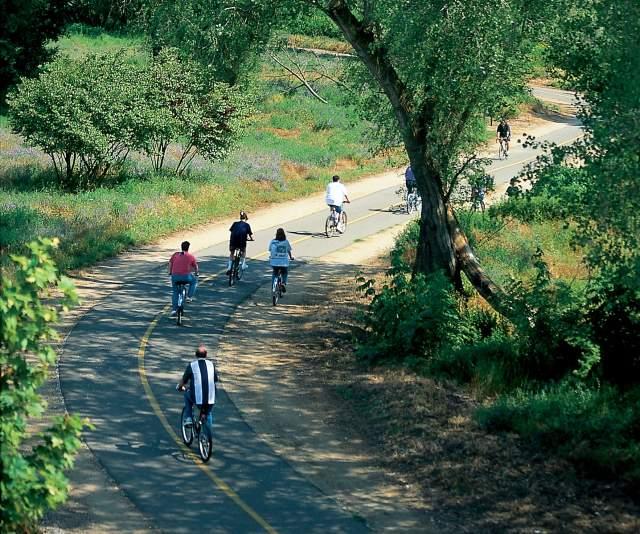 American River Bike Trail Sacramento