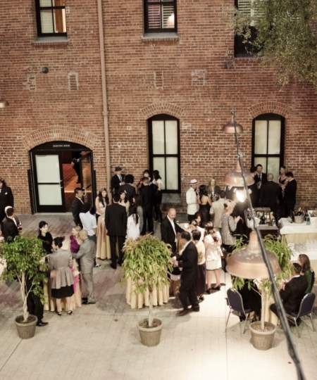 Courtyard event