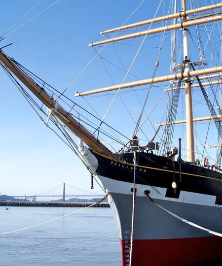 Fisherman's Wharf- Historic Ship