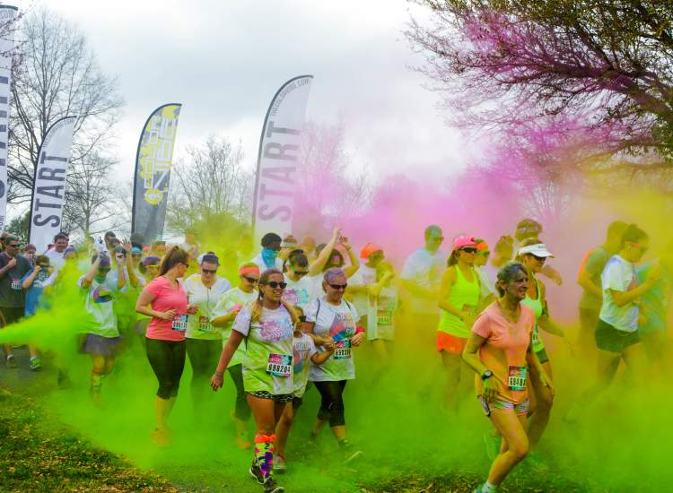 Color Vibe Run - Town Common