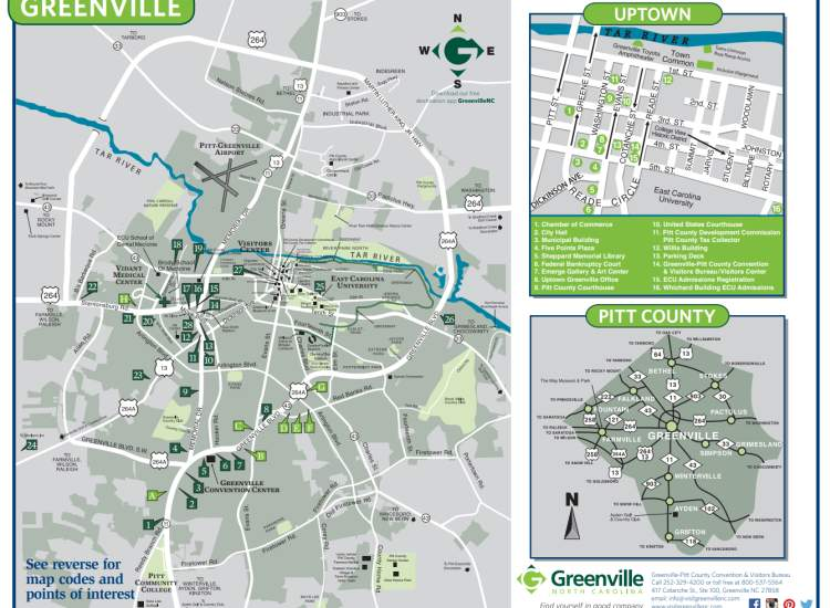 Greenville Map Cover