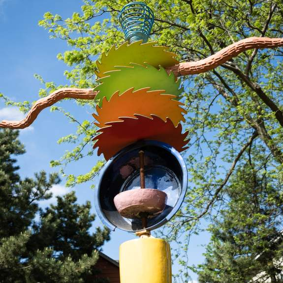 Colorful Sculpture called Alexa