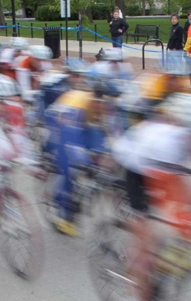 Bike Race in Madison