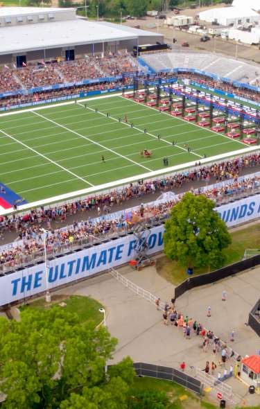CrossFit Games outdoor stadium at the Alliant Energy Center