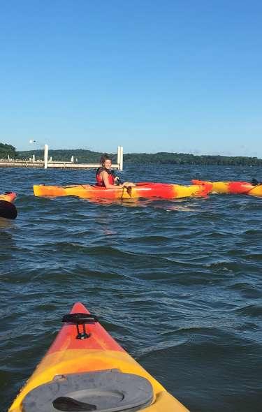 Kayak to Picnic Point