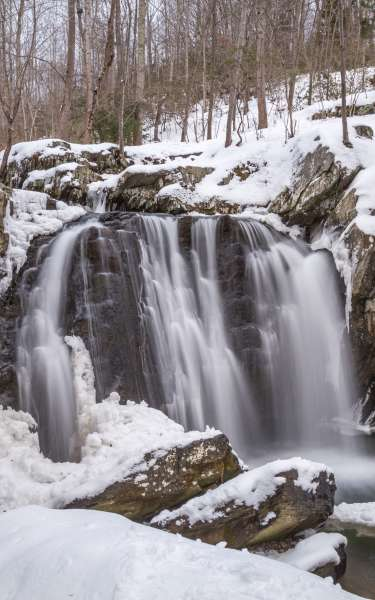 Winter at Kilgore Falls