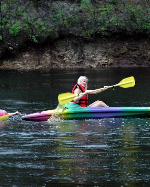 Kayaking the Big Bend Trail on the Suwannee River