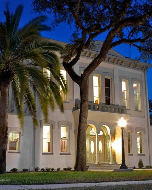 The Clay County Old Courthouse is part of what is known as the Historic Triangle in Green Cove Springs.