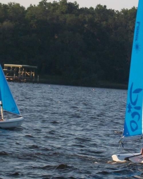 Sailing on Doctor's Lake in Orange Park
