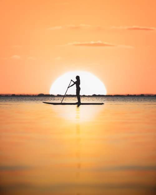 Paddleboarding in Jensen Beach