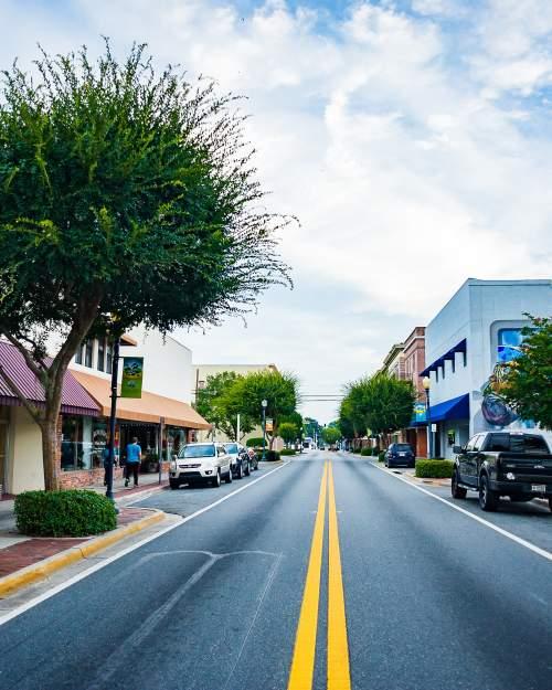 Lake City - street scene
