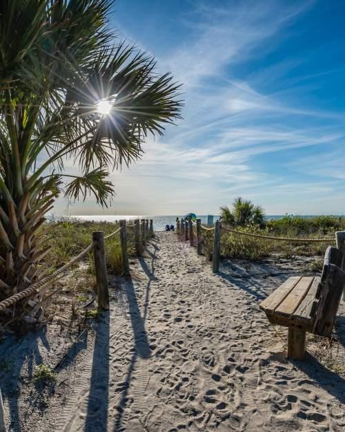 Path at Lido Beach