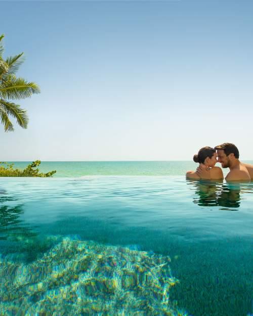 Naples Pool Couple