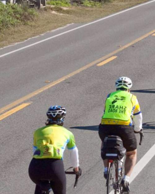 The St. Johns River to the Sea Loop Ride inaugural bicycle took place in 2008 in Putnam, St. Johns, Flagler, Volusia and Brevard Counties.