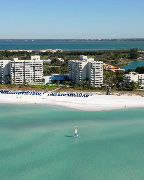 The Resort at Longboat Key Club features a private beach, two golf courses, a spa... and hopefully, you.