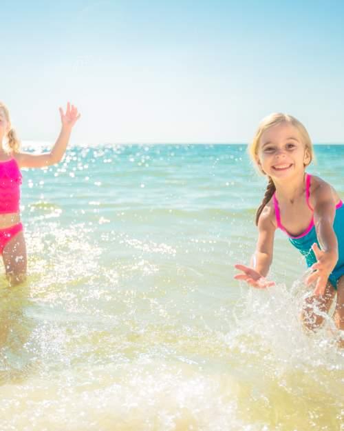 Kids on Mexico Beach