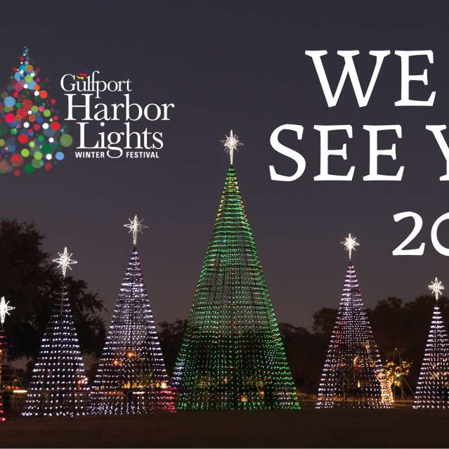 Gulfport Harbor Lights Winter Festival - See you in 2021