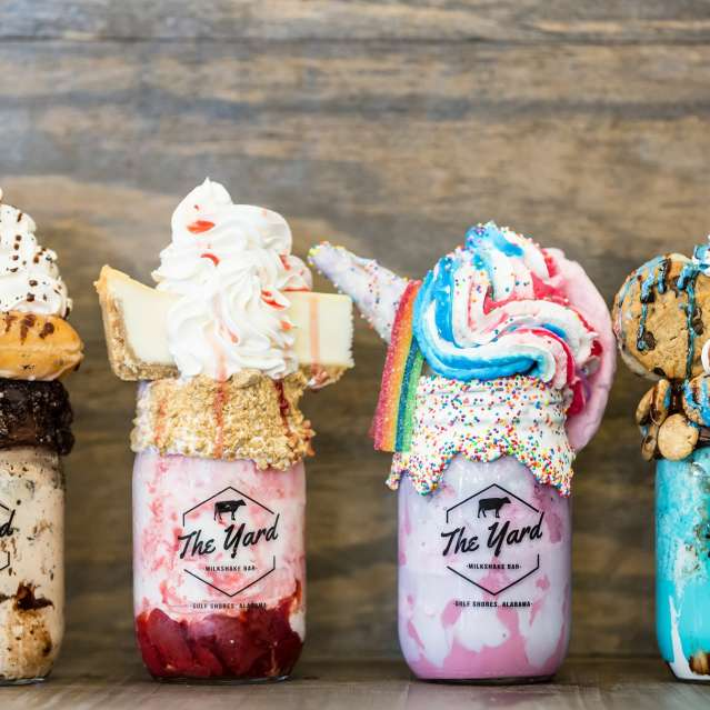 The Yard Milkshake Bar - D'Iberville Restaurants