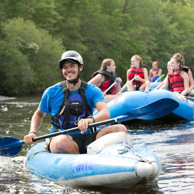 Pocono Mountains Rafting River Guide