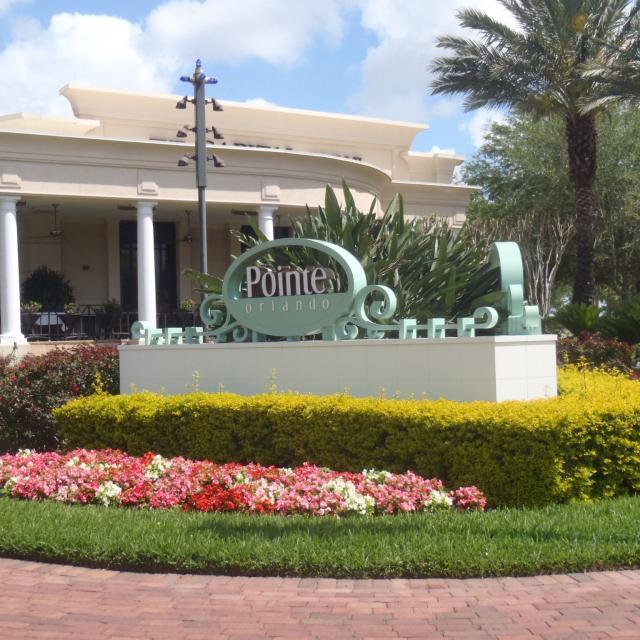 Pointe Orlando exterior sign