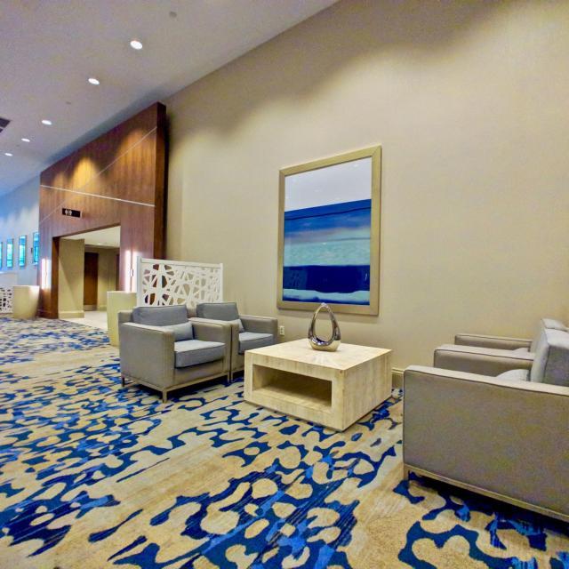 seating at DoubleTree by Hilton Orlando at SeaWorld