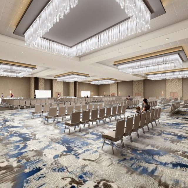 DoubleTree by Hilton Orlando at SeaWorld rendering of new ballroom