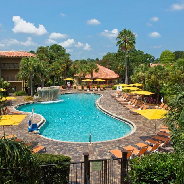 DoubleTree by Hilton Orlando at SeaWorld pool