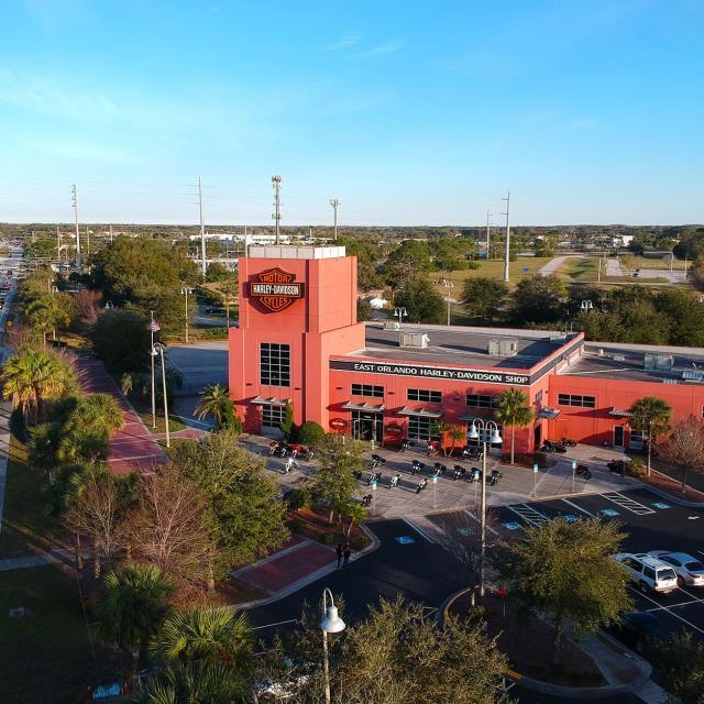Orlando Harley-Davidson aerial view
