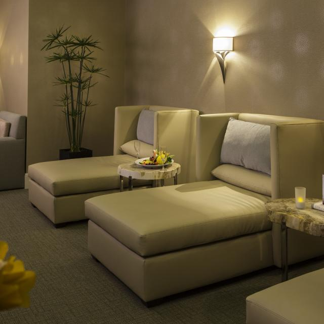 A relaxation room at the Spa at Rosen Centre