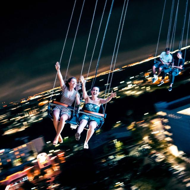 Orlando Starflyer flyers at night