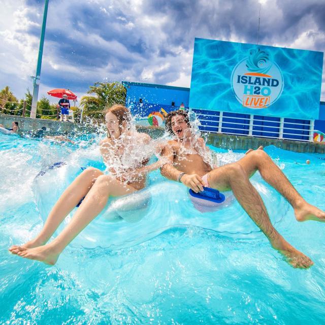 Lagoon at Island H2O Live at Margaritaville Orlando Resort