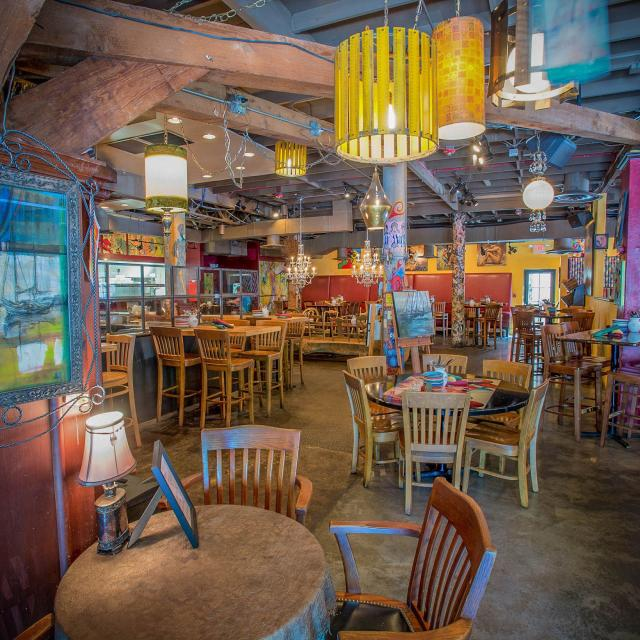Cafe Tu Tu Tango exclusive venue