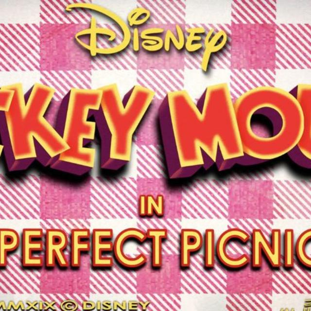 Mickey & Minnie's Runaway Railway at Disney's Hollywood Studios Perfect Picnic title card