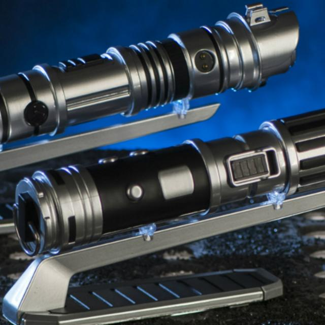 Lightsabers from Star Wars: Galaxy's Edge at Disney's Hollywood Studios