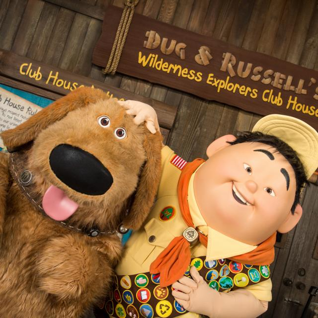 Dug & Russell's Wilderness Explorers Club House at Disney's Animal Kingdom Theme Park