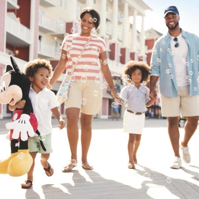Disney's Boardwalk Inn family boardwalk