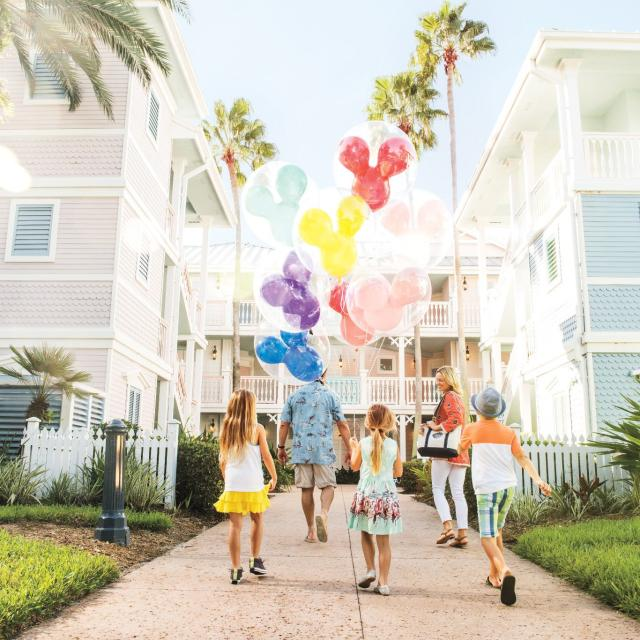 Disney's Old Key West Resort coming back to resort with balloons