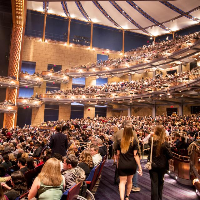 Dr. Phillips Center for the Performing Arts audience for Two Cellos concert
