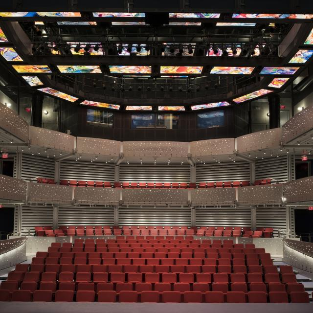 Dr. Phillips Center for the Performing Arts Alexis & Jim Pugh Theater interior