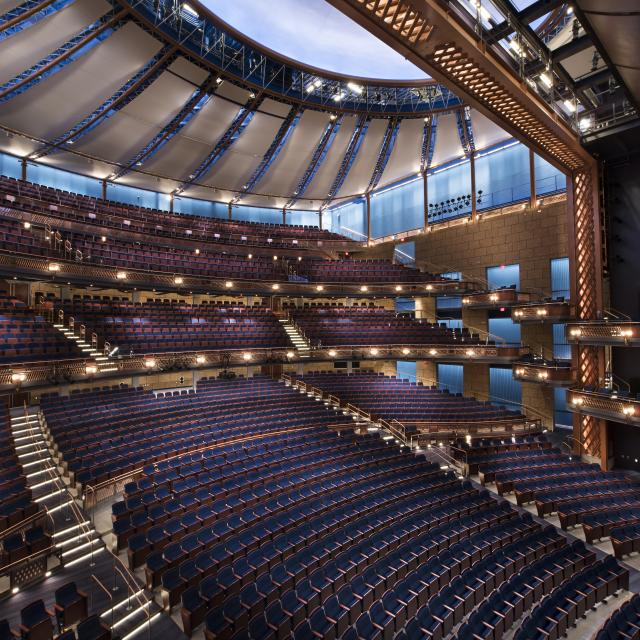 Dr. Phillips Center for the Performing Arts Walt Disney Theater seats