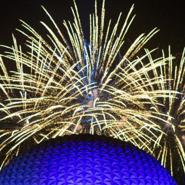 Epcot Forever fireworks show