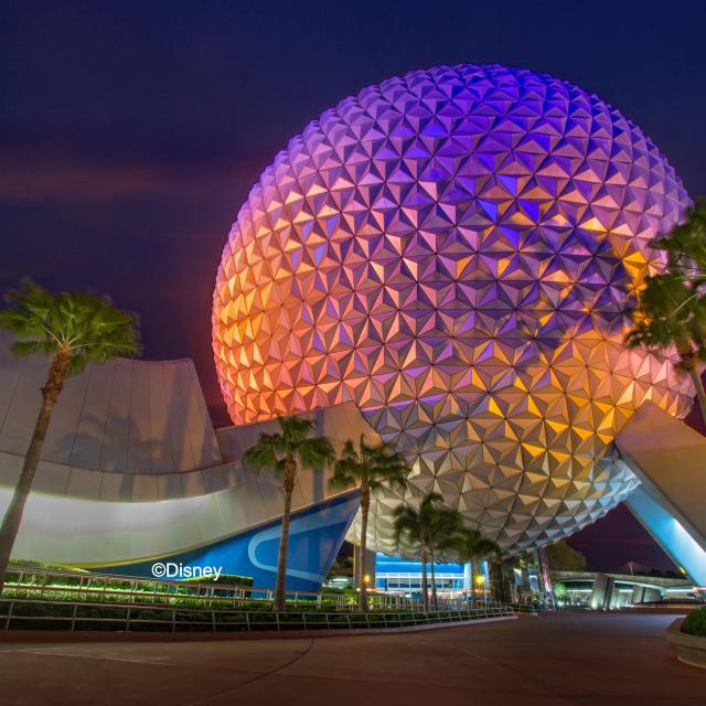 Spaceship Earth at Disney's Epcot