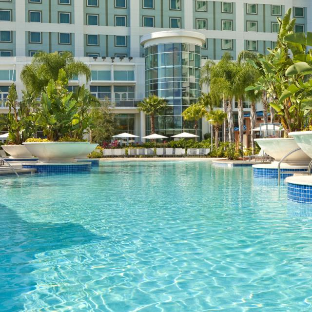 Hilton Orlando pool