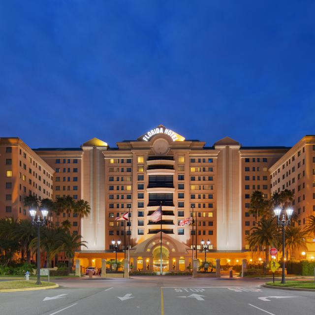 The Florida Hotel and Conference Center exterior entrance
