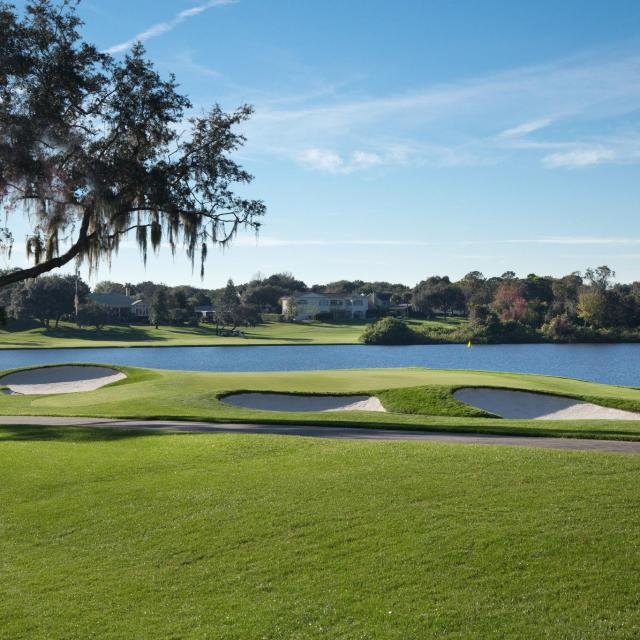 Arnold Palmer's Bay Hill Club & Lodge hole 5